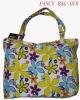 Beautiful leisure girl school tote bag