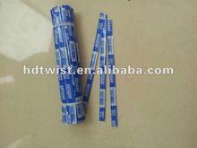 garden fresh vegetable paper twist ties/wire tag