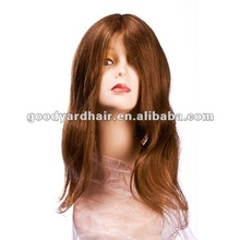human hair full lace wig hand made lace wig