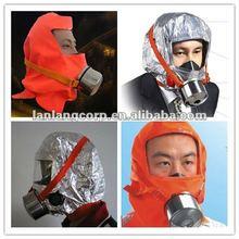 Fireproof full face fire escape portable preventor air respirator
