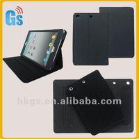 For Mini Ipad 360 Rotating Fold Leather Case Black