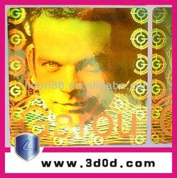hot foil stamping machines for holograms, hologram sticker