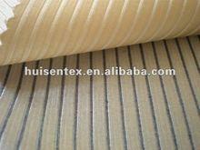 Shiny Stripe Dress / Suit Fabric Materials