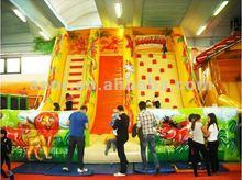 2012Top design&Hot-selling Giant Toboggan Slides /Inflatable Slides jungle