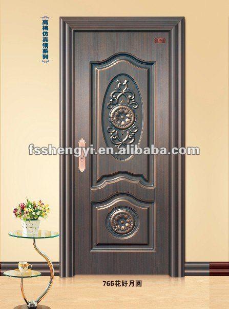 Steel room door design view modern steel doors shengyi for Door design for room