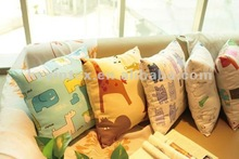 2012 hot-sell fashion 100% cotton sofa cushion