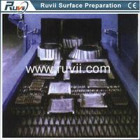 Wire Mesh Belt Type Metal Cleaning Sand Blasting Supplier