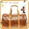 2013 new arrival vintage leather travel bag for men