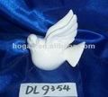 paloma de cerámica de porcelana artesanía paloma paloma de la paz