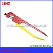 Hand crimp plier for cable lug and connector and terminal