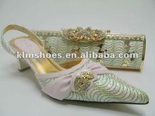 latest design fashion shoe and bag