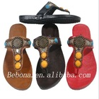 flat slipper model sandal 2013 for lady