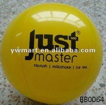 PVC inflate beach ball, branded beach balls