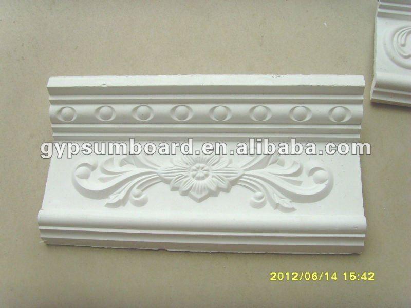 blanc d coratif plafond en pl tre corniche moulures id du produit 634599287. Black Bedroom Furniture Sets. Home Design Ideas