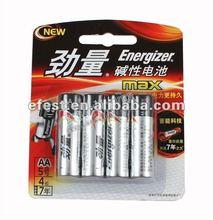 Energizer MAX alkaline 1.5V AA LR6 battery(1pack-4pcs)