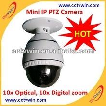 "3.5"" Mini 720p ptz camera,H.264 compression, two way audio and English osd menu set,ptz camera"