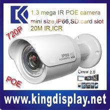 DAHUA IPC-HFW21001.3Mega pixel POE MINI Network Water-proof IR IP Camera suitable home use