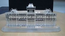 designer lifelike crystal building model