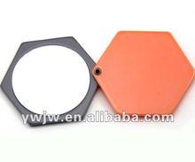 2012 Cheap Fashion beautiful Acrylic Compact Mirrors(JW-3019)