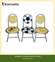 child football shaped chairs