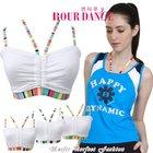 Adult rainbow sport bra