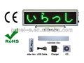 Signos led pantalla de escritorio recargable, led mini regístrate boardb1664