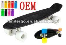 the beautiful new longboard skateboards