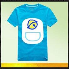 bule color wholesale kids clothes children cute tshirt