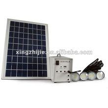 5W mini led lighting solar lighting kit