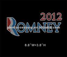 romany 2012 Iron On Diamante Rhinestone Crystal Transfer for T-shirt