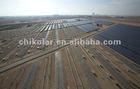 Solar ground installation mount
