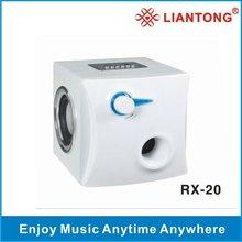 Mini Speaker RX-20 support iphone,ipod,nokia,blackbarry, MP3,MP4,laptop,PSP,PC,USB, FM, SD