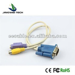 S-Video AV Convert cable ,VGA To RCA CABLE
