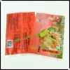 back side heat seal 400g frozen dumplings food packaging bag