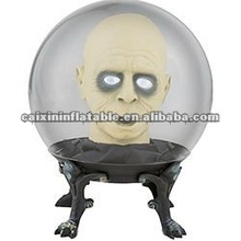 2012 hot sale infaltable globe for halloween/ halloween globe/ halloween gifts