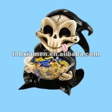 Ceramic Halloween Devil Decorative Candy Jar Wholesale