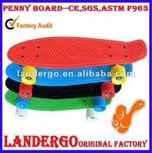 CE 2012 professional hot sale longboard skateboards