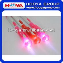 heart ball pen with LED light