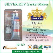 Neutral RTV Gasket Maker Silver