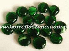 Decorative Green Glass Beads For Aquarium