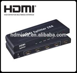 3D hdmi splitter and combiner 1 to 4 splitter with Audio Video Splitter