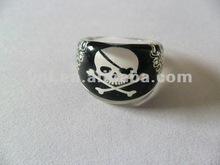 Pirate Printing Finger Halloween Plastic Ring