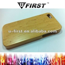 Bamboo and wood case for iphone 5