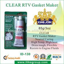 Neutral Clear High Heat RTV Silicone Sealant