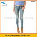 Jeans para mulheres com quadris, soft, de boa qualidade