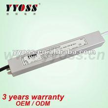 30W ip67 constant voltage 12v dc power supply