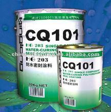 China single component polyurethane waterproof paint 20kg