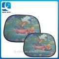 venta caliente de malla de nylon lado de dibujos animados cortina parasol del coche