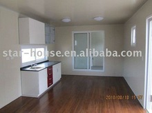 low cost beach vacation villa/modular house/steel structure villa