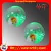 Supply TPU 5.5CM flashing kids bounce ball toys